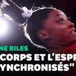 La vidéo déstabilisante de Simone Biles à l'entraînement aux prises avec ses