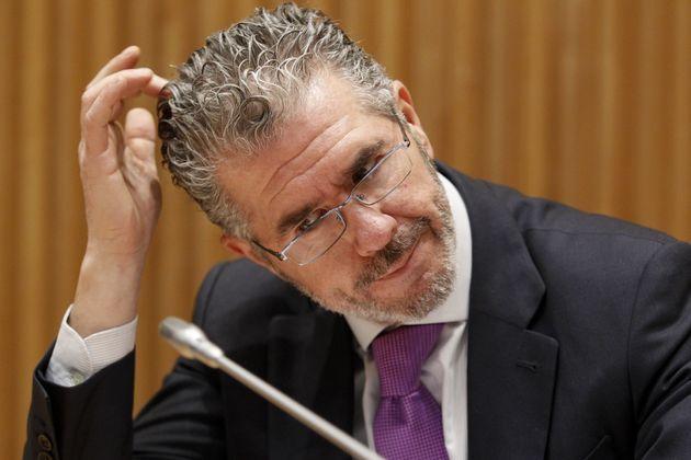 Francisco Granados, en el Congreso, en marzo de