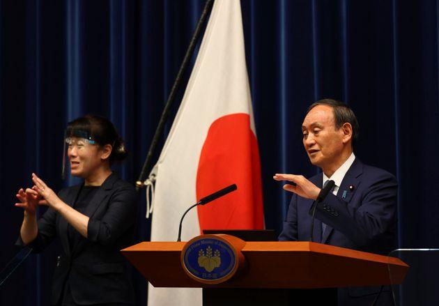 ο πρωθυπουργός Γιοσιχίντε Σούγκα ανακοίνωσε σήμερα τα τελευταία μέτρα.