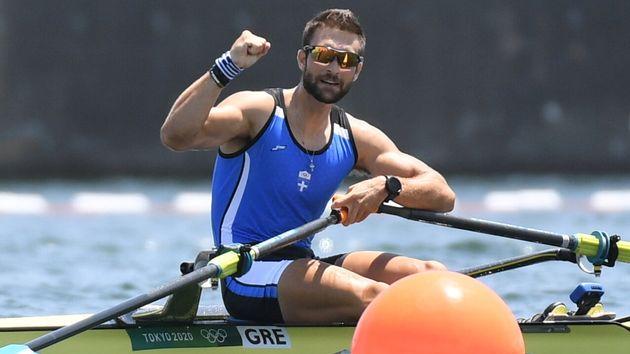 O Στέφανος Ντούσκος χάρισε το πρώτο χρυσό μετάλλιο στη χώρα μας στους Αγώνες του Τόκιο.
