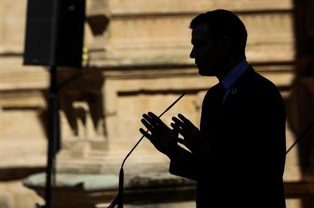 El presidente del Gobierno, Pedro Sánchez, este viernes en