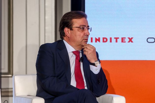 El presidente de la Junta de Extremadura, el socialista Guillermo Fernández Vara, el pasado 5 de