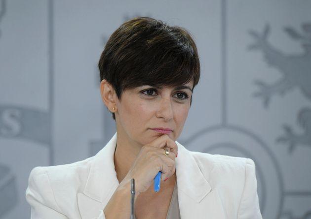La portavoz y ministra de Política Territorial, Isabel