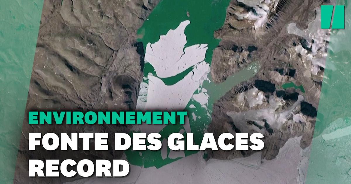 Au Groenland, une étendue de glace grande comme la Floride a fondu en un jour