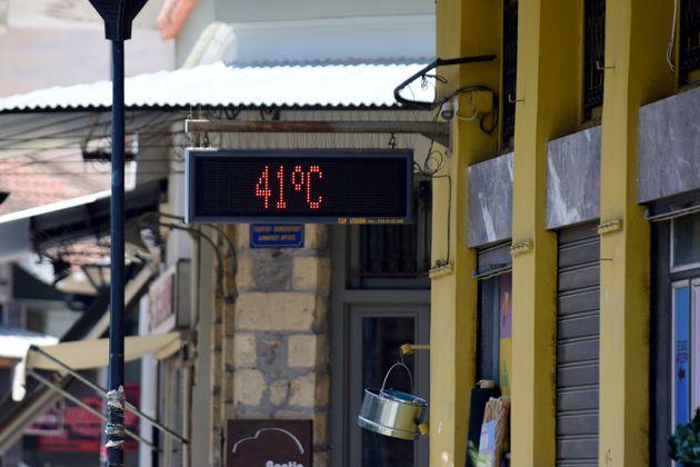 Θερμόμετρο στο Άργος δείχνει 41 βαθμούς