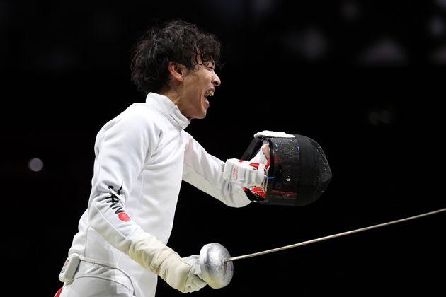 東京オリンピックに臨む宇山賢選手
