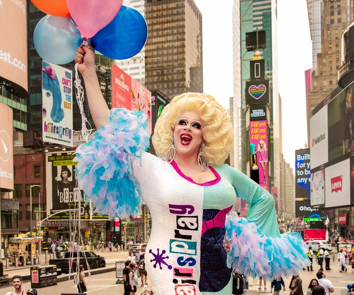 """Nina West will star as Edna Turnblad in the national tour of """"Hairspray,"""" opening Nov. 17 in San Diego, California."""