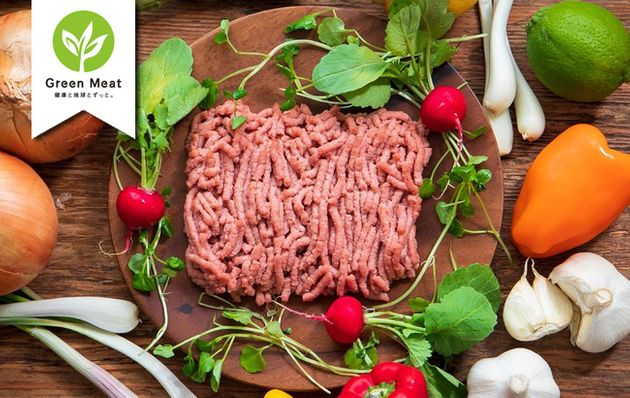 植物由来の肉を使った「Green Meat 焼売」発売 人気の「Green