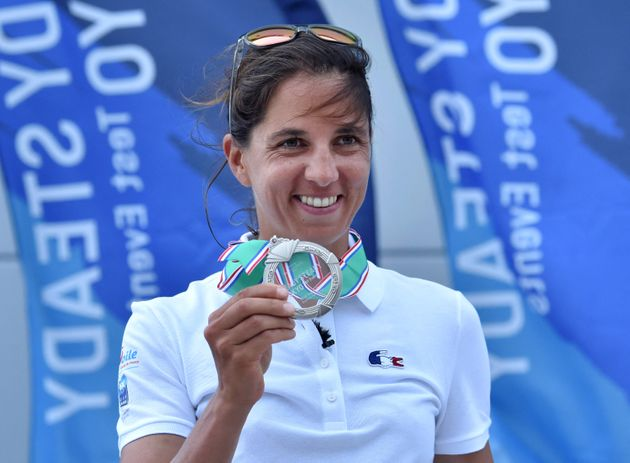 Après son fabuleux titre olympique à Rio en 2016, la véliplanchiste Charline Picon a obtenu une médaille...