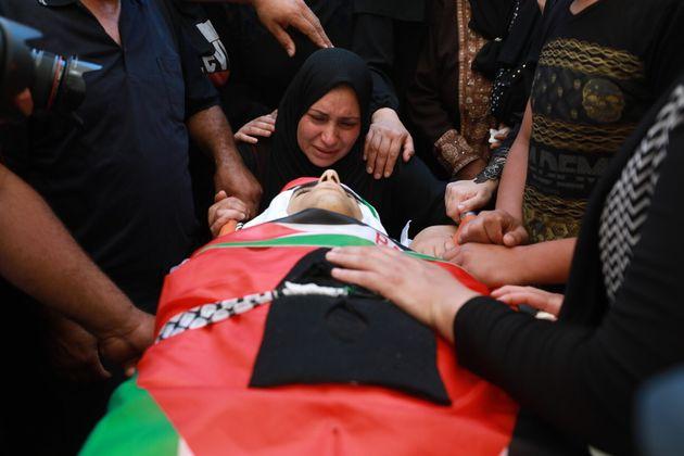 270 τραυματίες Παλαιστίνιοι στη Δυτική Όχθη κατά τις συγκρούσεις με Ισραηλινούς