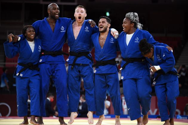 Ce samedi 31 juillet, l'équipe de France de judo est devenue championne olympique dans l'épreuve de judo...