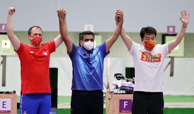 2020 도쿄올림픽 남자 10m 공기권총 금메달리스트 자바드
