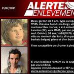Alerte enlèvement pour retrouver Dewi, 8 ans, enlevé à Lannion par son