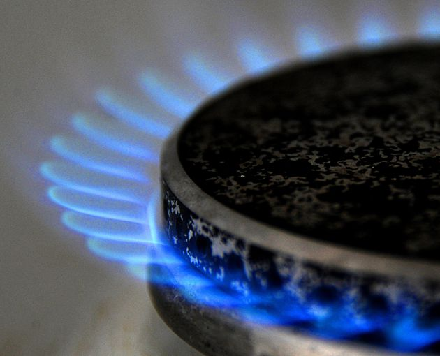 Photo of a gas stove taken on February 23, 2011 at