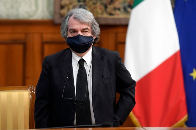 The Minister of Public Administration Renato Brunetta during the signing of the Pact for the innovation...