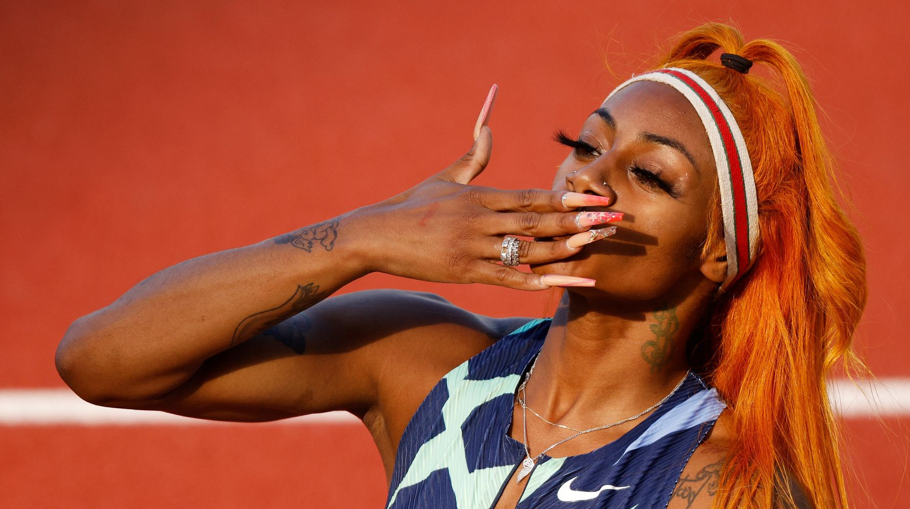 Sha'Carri Richardson Delivers Strong Message About The Olympic 100-Meter Final