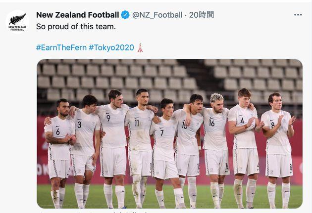 サッカー男子のニュージーランド代表