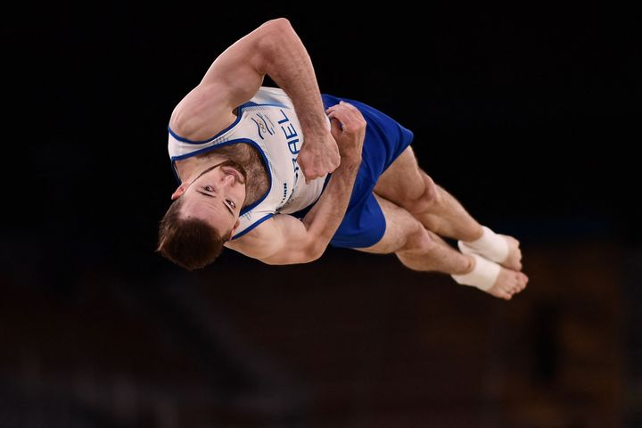 Gymnast Artem Dolgopyat wins floor exercise to give Israel its second Olympic gold to date