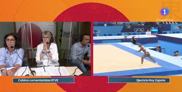 Paloma del Río narra la medalla de Ray Zapata en los Juegos de