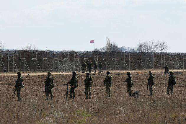 Έλληνες στρατιώτες στα σύνορα του Έβρου (Μάιος 2020)