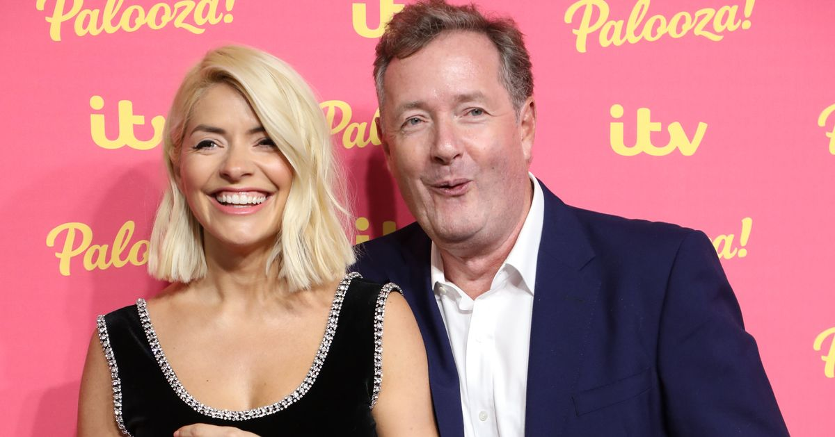 Holly Willoughby Swiftly Shuts Down Piers Morgan's Suggestion They Should Co-Host Good Morning Britain