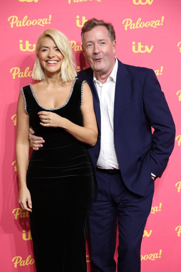 Holly Willoughby and Piers