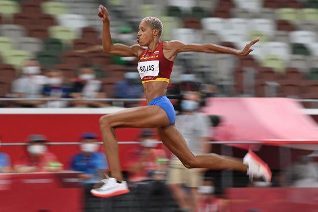 La Vénézuélienne Yulimar Rojas a été sacrée championne olympique...