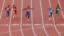Absolutely MASSIVE Upset In Men's 100 Meters At Tokyo Olympics