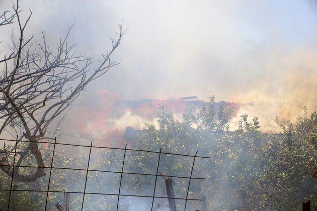 Φωτογραφία Αρχείου από παλιότερη πυρκαγιά στη
