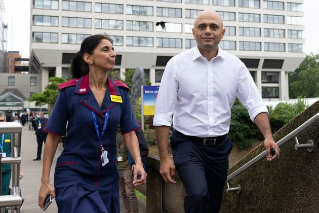 Health secretary Sajid Javid now has sweeping powers over commercial