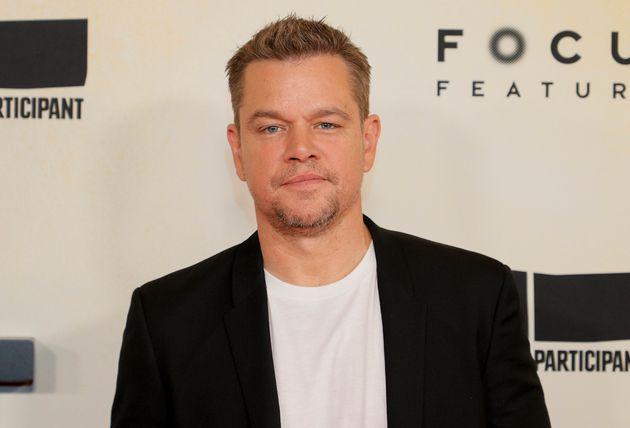 Matt Damon attends the