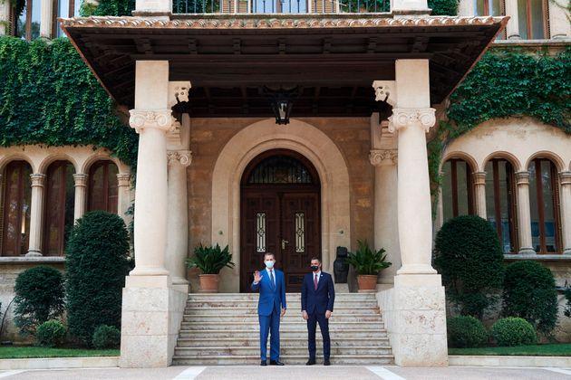 El rey y Sánchez, en 2020 en