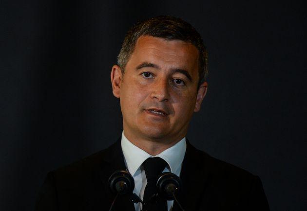 Le ministre de l'Intérieur Gérald Darmanin le 26 juillet