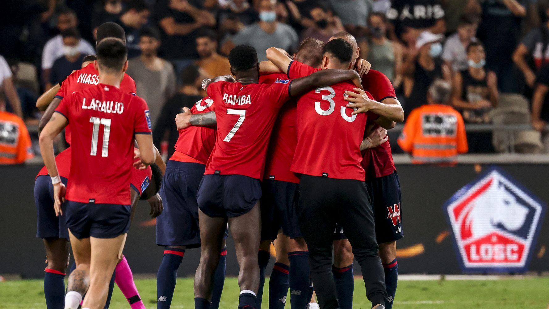 Trophée des champions: Lille bat le PSG 1-0 à Tel-Aviv