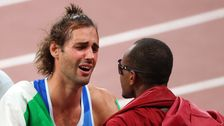 See The Heartwarming Moment 2 Olympians Decided To Share A Gold Medal