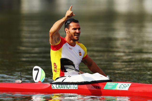 Saúl Craviotto, tras ganar un bronce en Río, en
