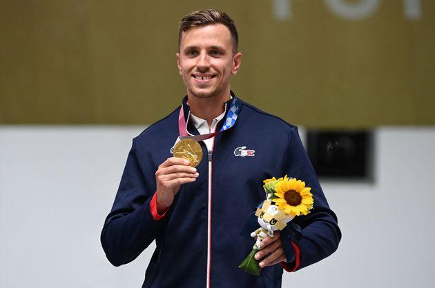 Ce lundi 2 août, le Français Jean Quiquampoix a remporté l'or olympique au pistolet de vitesse à 25 mètres....