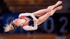 Jade Carey Comes Up Golden For U.S. In Olympic Floor Exercise