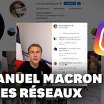 Macron investit TikTok et Instagram pour faire la guerre aux fake news sur les