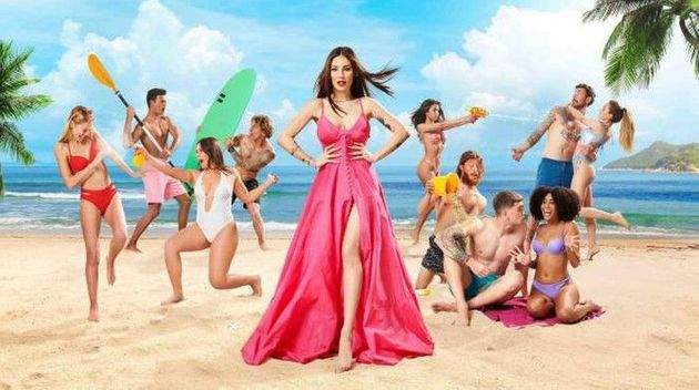 Love Island Italy is hosted by Giulia de
