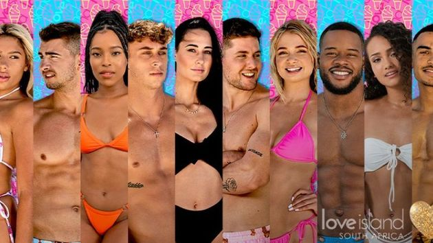 The opening cast for Love Island South