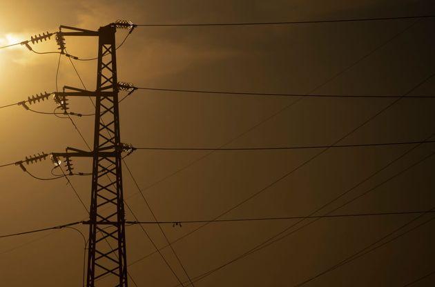 Torres de alta tensión, en Madrid, el pasado 20 de