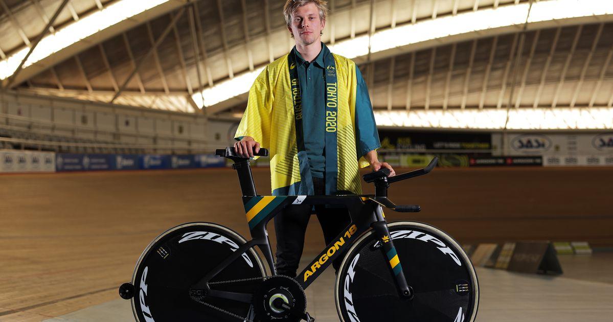 Aux JO, le vélo de cet Australien se brise en pleine épreuve
