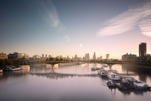 The Garden Bridge Project was dropped in