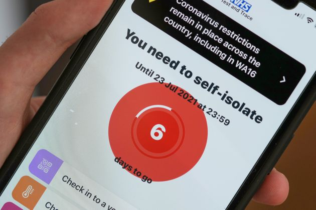 NHS App Changed To Reduce Number Of People 'Pinged' Into