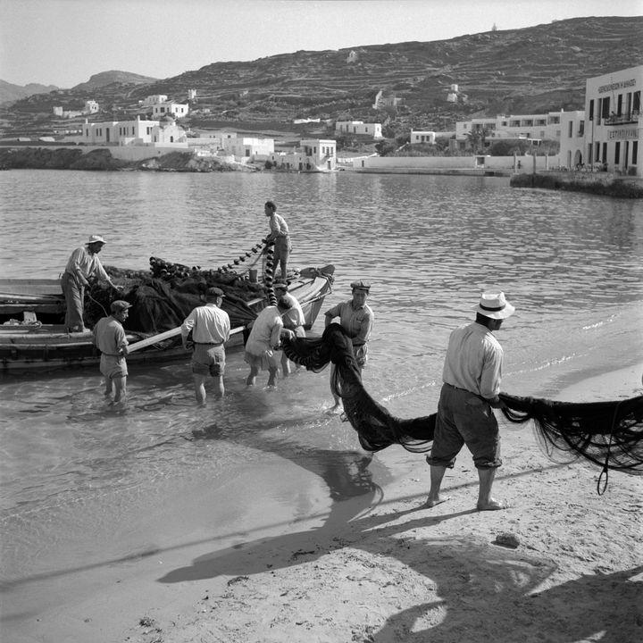Mykonos. 1955.