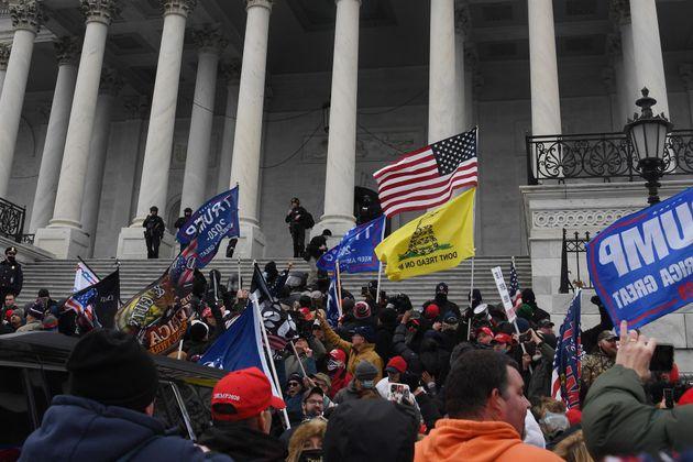 Imagen del asalto al Capitolio de EEUU del 6 de