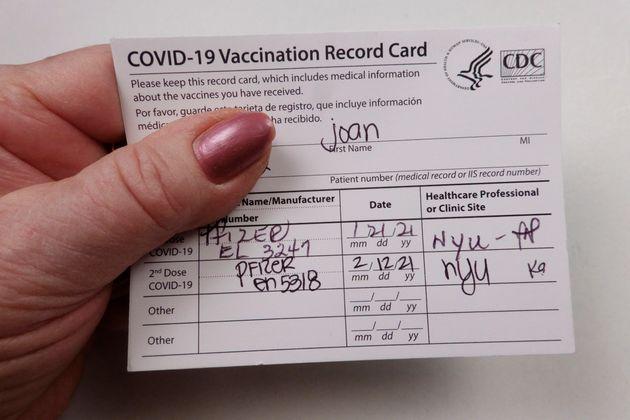 ワクチン接種証明書