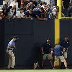 """【MLB】ヤンキースタジアムに""""珍客""""現る。1匹の猫がグラウンドを駆け抜ける姿に選手も観客も夢中(動画)"""