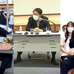 건강이 걱정될 정도로 365일 '쩍벌' 자세 유지하는 윤석열 전 검찰총장의 사진을